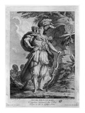 The Actor Lekain as Genghis Khan, in 'L'Orphelin De La Chine' by Voltaire (1694-1778) 1765 Giclee Print by M.F.A. Castelle