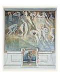 Illustration from Dante's 'Divine Comedy', Inferno, Canto Xiv. 28, 1921 (W/C on Paper) Giclee Print by Franz Von Bayros