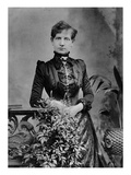 Alice Cornwell, 1885 (B/W Photo) Giclee Print by Herbert Rose Barraud