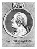 Edme Bouchardon (Engraving) Giclee Print by Charles Nicolas II Cochin