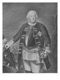 Friedrich Wilhelm I, King of Prussia (Engraving) Giclee Print by Antoine Pesne