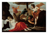Bacchus Discovering Ariadne on Naxos Giclee Print by Louis Le Nain