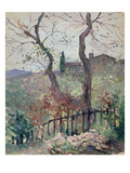 Perugia, Umbria, 1894 (Oil on Board) Giclee Print by Konstantin Andreevic Somov