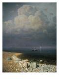 Lake Ladoga, 1873 Giclee Print by Arkip Ivanovic Kuindzi