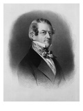 Christian Friedrich, Baron Stockmar, Engraved by Thomas Fairland (Litho) Giclee Print by Franz Xavier Winterhalter