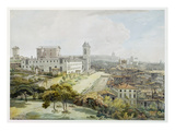A View of Rome Taken from the Pincio, 1776 (W/C over Graphite on Antique Laid Paper) Giclee Print by William Pars