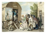 The Fairs: the Show, C.1821 (Colour Litho) Reproduction procédé giclée par John Augustus Atkinson