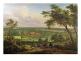Bifrons Park, Patrixbourne, Kent, Formerly Attributed to John Wootton (1682-1764) Giclee Print by  English