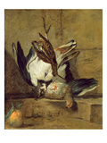 Still Life, 1732 (Oil on Canvas) Giclee Print by Jean-Baptiste Simeon Chardin