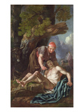The Good Samaritan, C.1751-52 (Oil on Canvas) Giclee Print by Francis Hayman