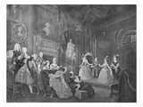 The Indian Emperor, Engraved by Robert Dodd (Engraving) Giclee Print by William Hogarth