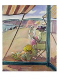 Saint-Gildas Point, 1922 (Oil on Canvas) Giclee Print by Henri Lebasque
