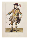 Satirical Print in Form of a 'Wanted Poster' for Prince Charles Edward Stuart, 1745 Giclee Print by Richard, the Elder Cooper
