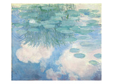 Waterlilies, 1914-17 Giclee Print by Claude Monet