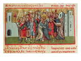Ms Gr 54 F.99 the Kiss of Judas (Vellum) Giclee Print by  French