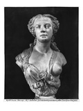 Madame Aglae Sabatier, known as Apollonie Sabatier, 1847 (Marble) Giclee Print by Jean Baptiste Auguste Clesinger