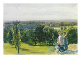 In Richmond Park, C.1869 (W/C with Gouache on Paper) Giclee Print by John William Inchbold