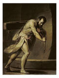 Samson in the Treadmill, 1754 Giclee Print by Giacomo Zampa