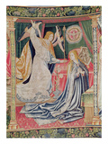 The Annunciation, Brussels Workshop, C.1510 (Tapestry) Giclee Print by  Flemish