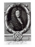 Portrait of John Blow (1649-1708) (Engraving) Giclee Print by Robert White