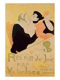 Reine De Joie, 1892 (Colour Litho) Lámina giclée por Henri de Toulouse-Lautrec