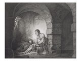 The Captive, Engraved by Thomas Ryder (1746-1810) 1786 (Stipple Engraving) Giclee Print by Joseph Wright Of Derby