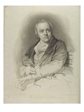 Portrait of William Blake, Frontispiece from 'The Grave, a Poem' by William Blake (1757-1827) Premium Giclee Print by Thomas Phillips