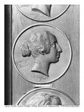 George Sand, 1833 (Bronze) (B/W Photo) Giclee Print by Pierre Jean David d'Angers