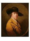 Self-Portrait, C.1780 (Oil on Canvas) Giclee Print by Joseph Wright Of Derby