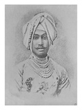 Maharaja Rajinder Singh (Engraving) Giclee Print by  English