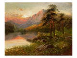 Highland Solitude (Oil on Canvas) Giclee Print by Frank Hider
