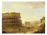 The Colosseum, 1776 (Oil on Canvas) Giclee Print by John Inigo Richards