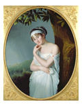 Portrait of Madame Recamier (1777-1849), c.1798-9 Giclee Print by Eulalie Morin