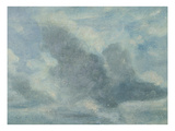 Sky Study, C.1822 (Oil on Paper on Board) Giclee Print by Lionel Constable