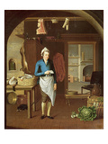 Kitchen Scene, 1771 Giclee Print by John Atkinson