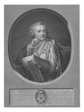 Count Stroganov, Engraved by Ignaz Sebastian Klauber, 1802 (Engraving) Giclee Print by Johann Baptist I Lampi