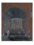 Street Scene Premium Giclee Print by Joachim Ringelnatz