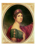 Portrait of Empress Josephine Giclee Print by Robert Lefevre
