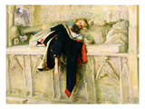 L'Enfant Du Regiment (The Random Shot) 1855 (Oil on Paper Laid Down on Board) Giclee Print by John Everett Millais