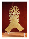 Pectoral, Muisca Culture, 1100-1500 (Gold) Giclee Print by  Pre-Columbian