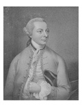Christopher Anstey, Engraved by Cantelowe Bestland (Engraving) Giclee Print by Christian Friedrich Zincke