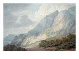 Between Lyme Regis and Charmouth Giclee Print by John White Abbott
