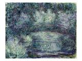 The Japanese Bridge, 1918-19 Giclee Print by Claude Monet