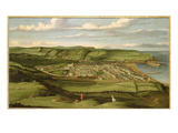 Whitehaven, Cumbria, Showing Flatt Hall, c.1730-35 Premium Giclee Print by Matthias Read