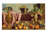 Still Life with a Jug, 1734 Giclee Print by Alexandre-Francois Desportes