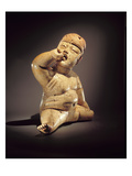 Baby Figure (Ceramic, Cinnabar and Red Ochre) Giclee Print by  Olmec