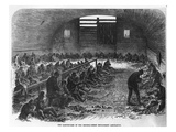 The Labour Yard of the Bethnal Green Employment Association, from 'The Illustrated London News' Giclee Print by  English