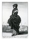 Winter, 1643 (Etching) Premium Giclee Print by Wenceslaus Hollar