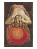 And Left a Round Globe of Blood, Trembling Upon the Void..., Plate 11 Giclee Print by William Blake