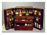 Travelling Pharmacy, C.1820 (Mahogany) Premium Giclee Print by  English